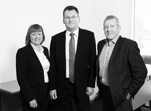 Heather Robinson Paul Burke and Richard Bamford Board Members of Davenham Asset Finance